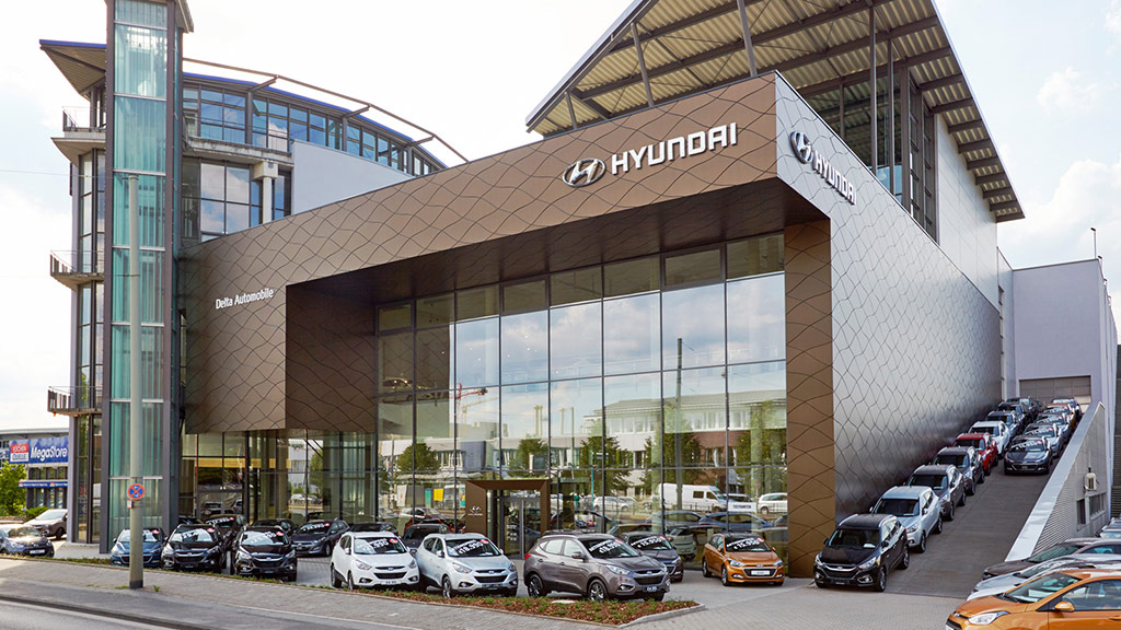 Westiform Germany GmbH, Corporate Branding, Serial, Seriengeschäft, Roll Out, Hyundai